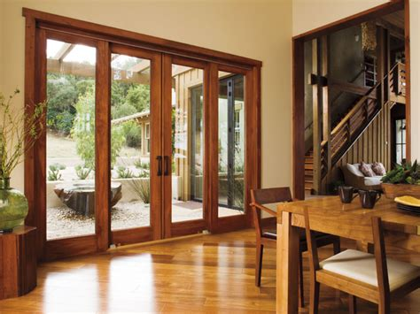 4 panel sliding patio doors pella 174 architect series 174 4 panel sliding patio door