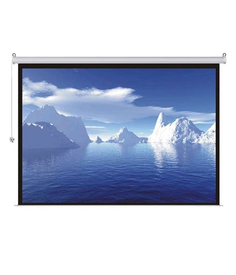 Home Projector Screen Price In India