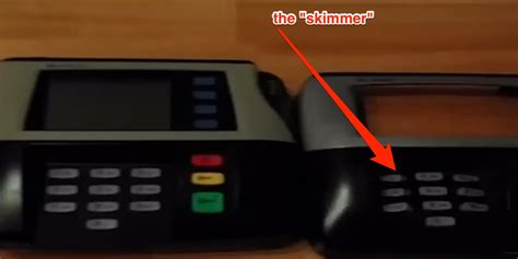 how do thieves make credit cards credit card pos skimmers business insider