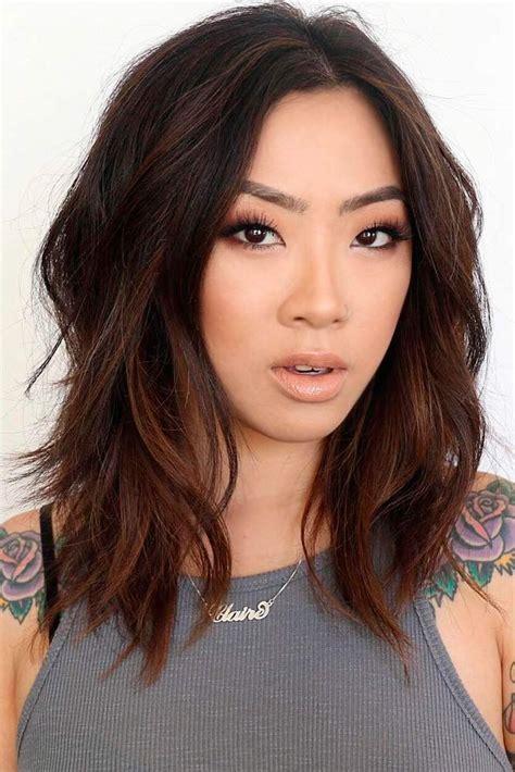 medium length hairstyles best 25 medium length layered hairstyles ideas on