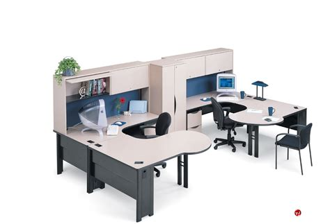 office desk workstation the office leader abco endure endconfig8 2 person u