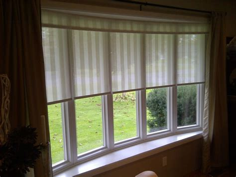 blinds for bow windows 25 best ideas about bow window treatments on