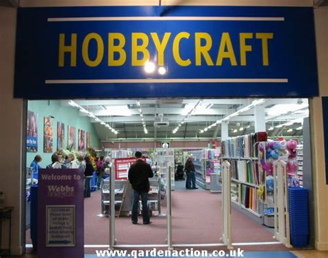 hobby craft the cafe at webbs of wychbold garden centre