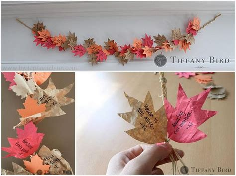 gratitude crafts for 20 thankful garlands and gratitude tree crafts for