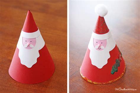 santa claus craft for irresistible santa claus craft onecreativemommy