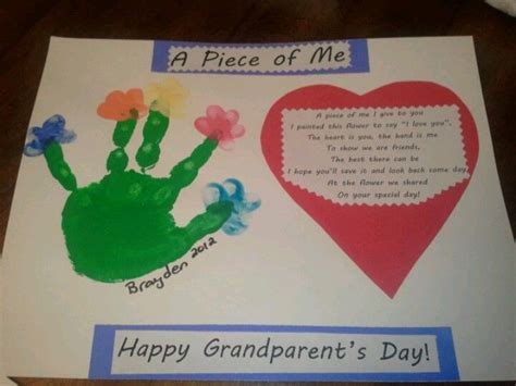 grandparents day craft ideas for grandparent s day craft from my preschoolers fall