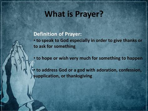 prayer meaning can you hear me god the power of prayer presented to you