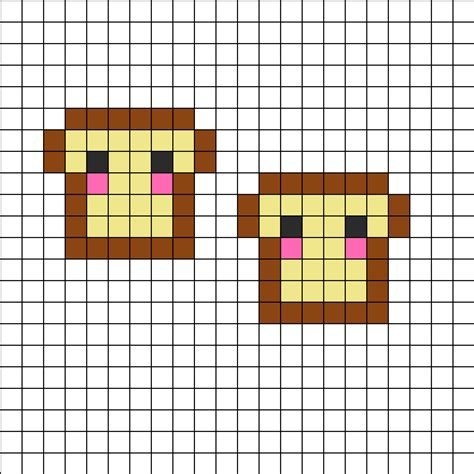 perler bead patterns easy perler bead patterns food images