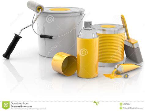 spray painter tools painting tools stock illustration image 47274951