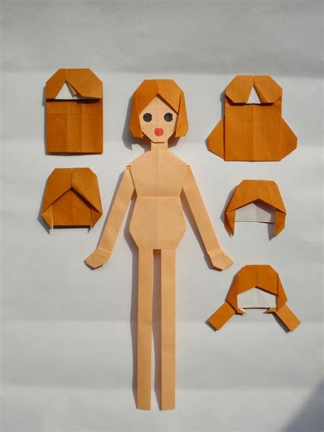 Origami Doll Crafts