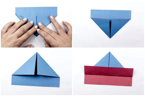 origami boat step by step easy origami boat