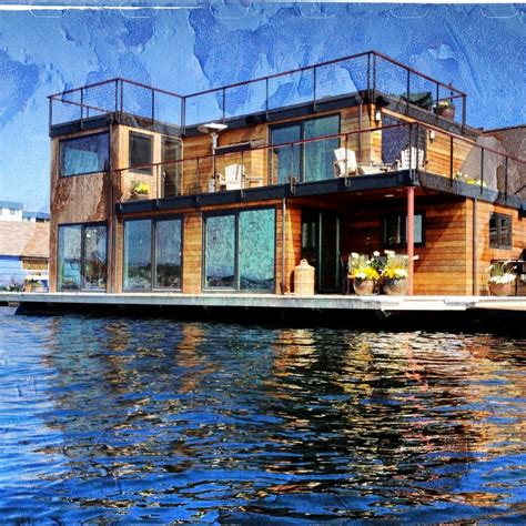 floating houses seattle afloat seattle houseboats floating homes live