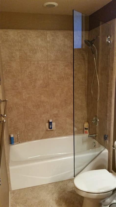 tub shower doors frameless frameless shower doors a cut above glass