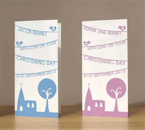 christening cards to make christening cards personalised church banner christening