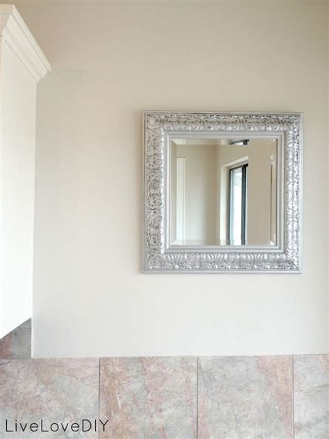spray painting mirror frame livelovediy my favorite spray paint and how to get an