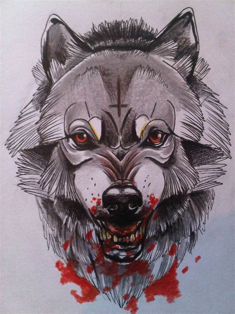 mr wolf by lewisbuckleyart on deviantart
