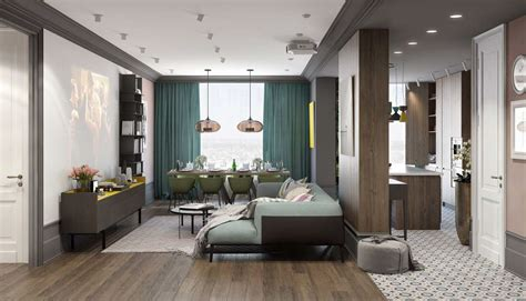 interior color for home a pair of modern homes with distinctively bright color themes