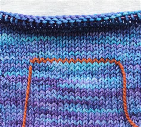 what is waste yarn in knitting nondaily tip no 10 simple pocket 197 sa tricosa