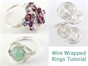 how to make wire jewelry rings ljs launches jewellery tutorials wire wrapped