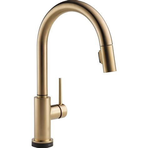 pictures of kitchen faucets delta faucet 9159t ar dst trinsic arctic stainless pullout spray kitchen faucets efaucets