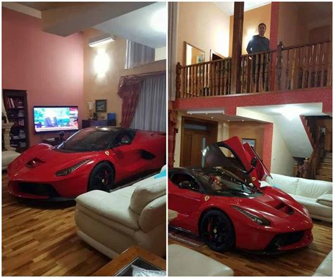 Five Bedroom House Plans updated laferrari owner keeps his car in the living room