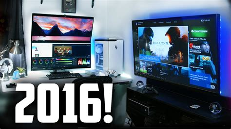 gaming room setup my 2016 ultimate gaming setup room tour