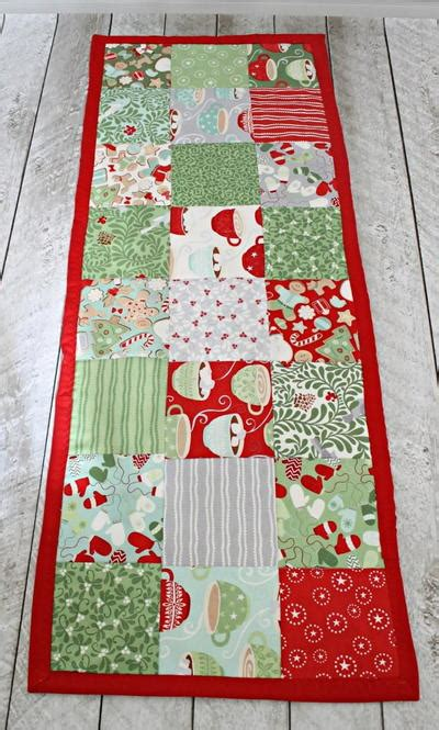 easy table runner easy table runner sewing pattern allfreesewing