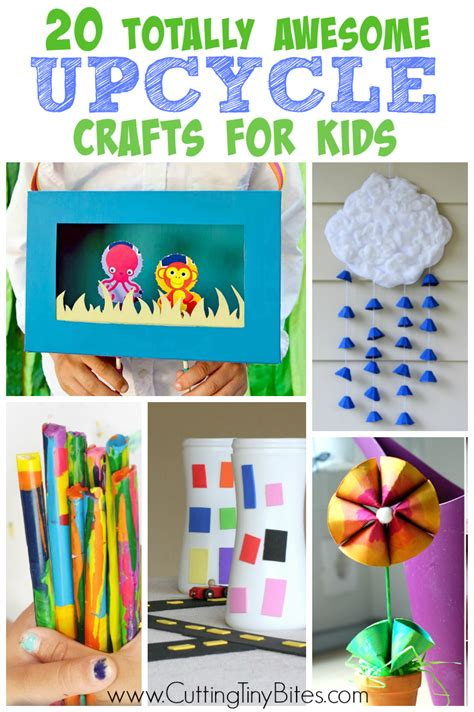 awesome craft projects totally awesome upcycle crafts for cutting tiny bites