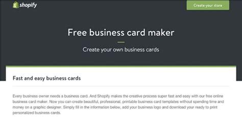 make free business card 10 situs yang menyediakan desain kartu nama