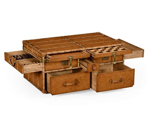 trunk for coffee table rustic trunk coffee table for your living room