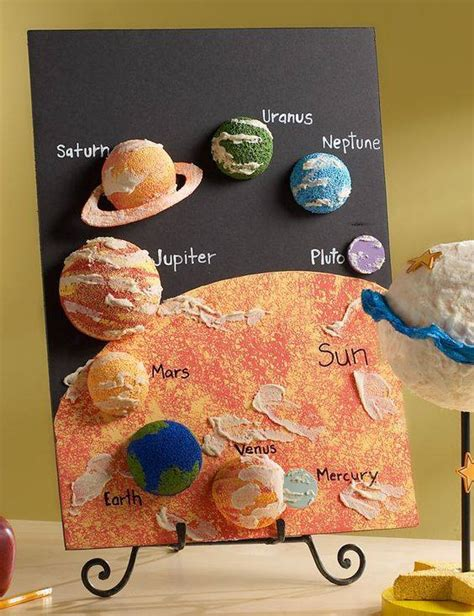 craft ideas for school projects solar system planets craft sun moon planets