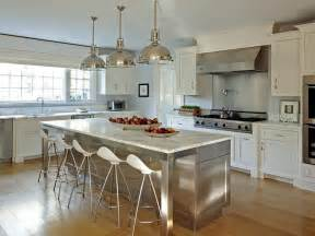 kitchen islands stainless steel stainless steel kitchen island with marble countertops and