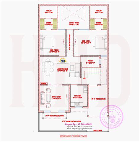 ground floor plan august 2014 home kerala plans