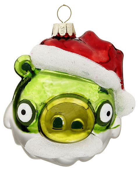angry bird ornaments angry birds green pig ornament activities
