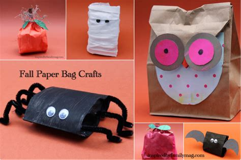 paper bag craft ideas crafts blogs justmommies blogs