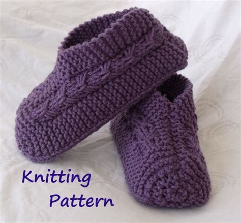tutorial knitting beginners easy to knit bow slippers tutorial knitting pattern for