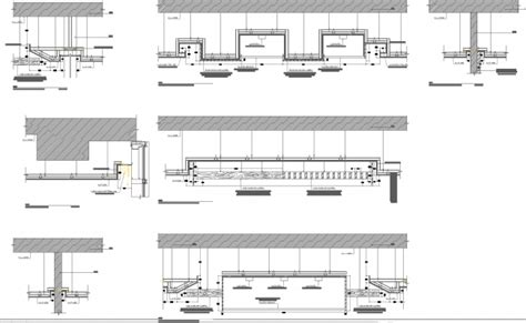 How To Draw A Floor Plan In Autocad false ceiling detail drawings cad files
