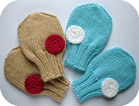 knit mittens knitting patterns free baby mittens images