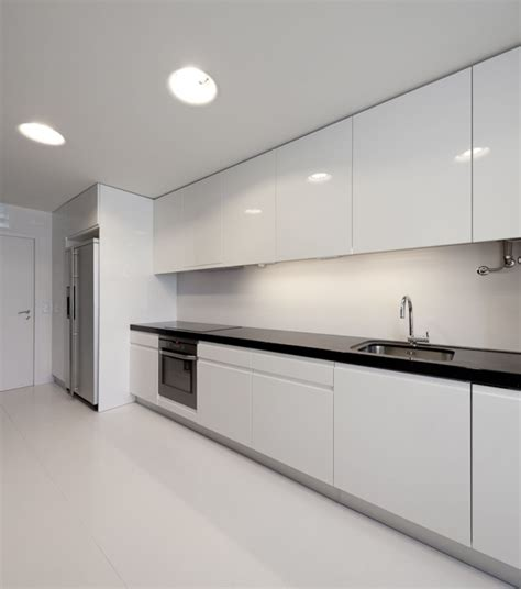 modern white kitchen design white modern apartment kitchen decoration home design