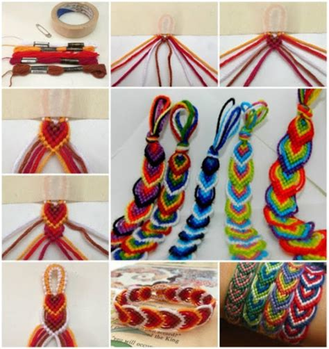 craft thread projects diy craft bracelets