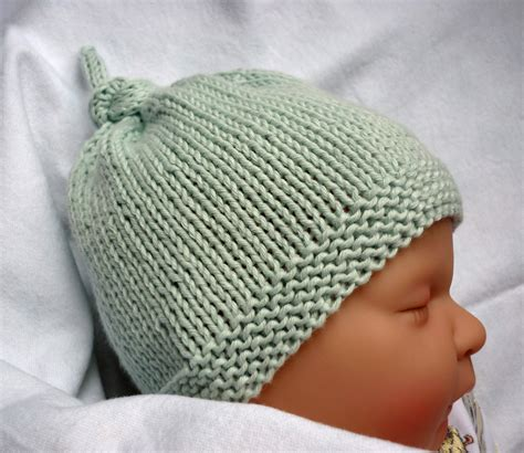 Baby Hat Knitting Pattern A Knitting