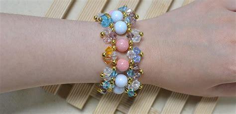 pandahall jewelry tutorial pandahall jewelry easy colorful beaded bracelet