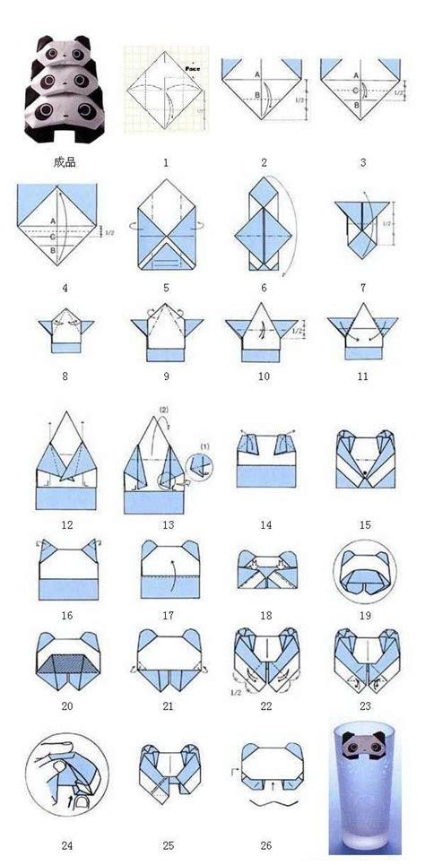 origami panda panda origami el papel ese gran invento paper