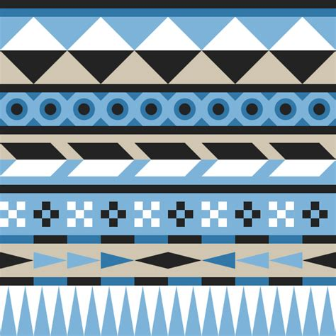 easy designs how to create an easy geometric aztec pattern in inkscape