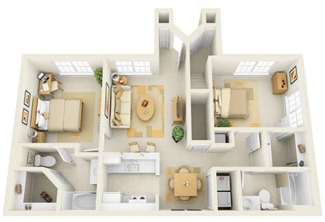 2 bedroom apartments 2 bedroom apartment house plans