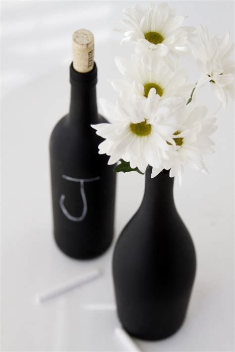 diy chalkboard bottles diy chalkboard painted wine bottles bell alimento