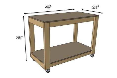 woodworking bench dimensions easy portable workbench plans rogue engineer