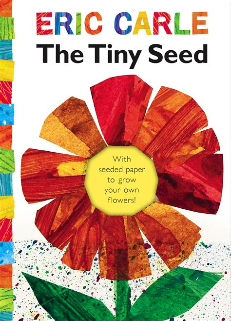 eric carle picture books the tiny seed book by eric carle official publisher
