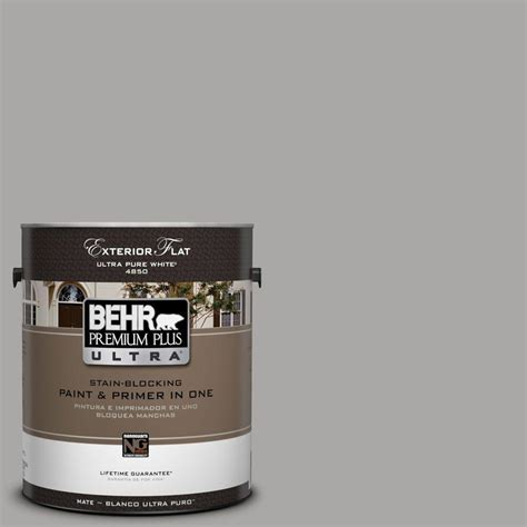 behr exterior paint colors gray behr premium plus ultra 1 gal ul260 7 cathedral gray