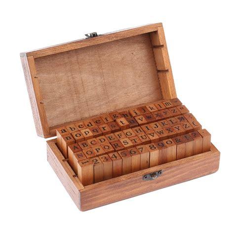 rubber letter st set get cheap wooden st set aliexpress